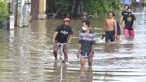 Kawasan Griya Anyar Bali Terendam Banjir
