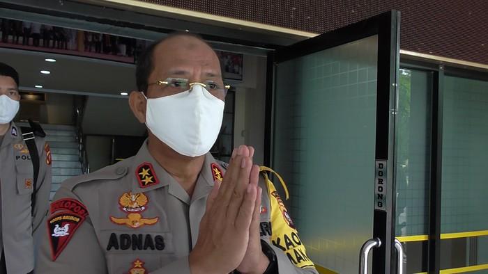 Kapolda Gorontalo, Irjen M Adnas (Ajis Khalid/detikcom)