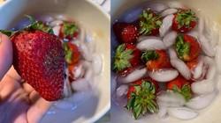Apa Benar Air Dingin Bisa Kembalikan Kesegaran Stroberi? Yuk, Buktikan!