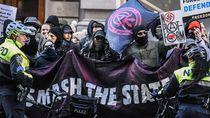 Imbas Demo Rusuh, Trump Sebut Kelompok Anarkis Antifa Organisasi Teroris