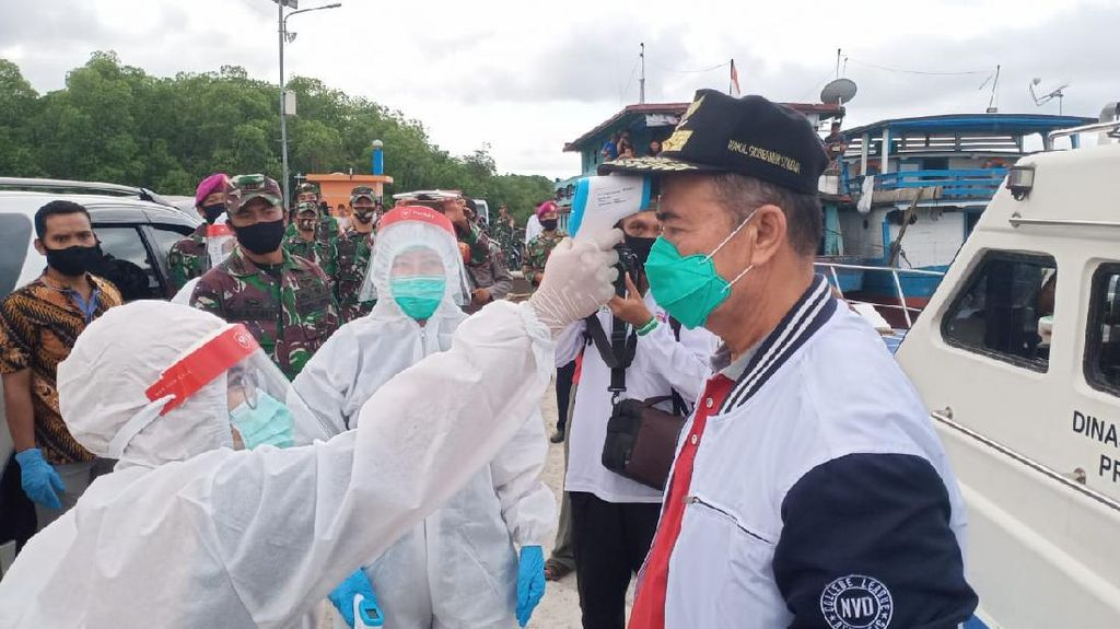 Wagub Sumbar Kunjungi Kepulauan Mentawai Pantau Kesiapan New Normal