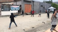 Video Puluhan Bocah Ribut Gegara Perang Senjata Mainan!