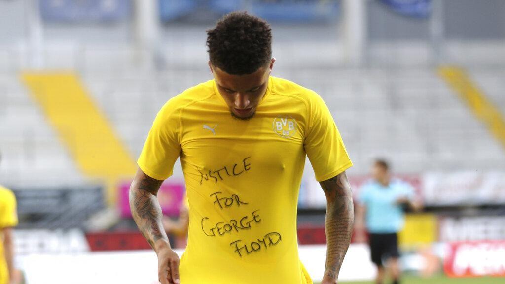 DFB Usut Pemain Bundesliga yang Selebrasi buat George Floyd