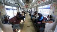 Naik Kereta Wajib Pakai Pelindung Wajah, KAI: Diberikan Gratis