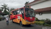 45 Bus Bantuan Kemenhub Mengaspal di Palembang, Gratis Hingga Desember