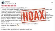 Kenali Jenis-jenis Hoax Corona di Indonesia