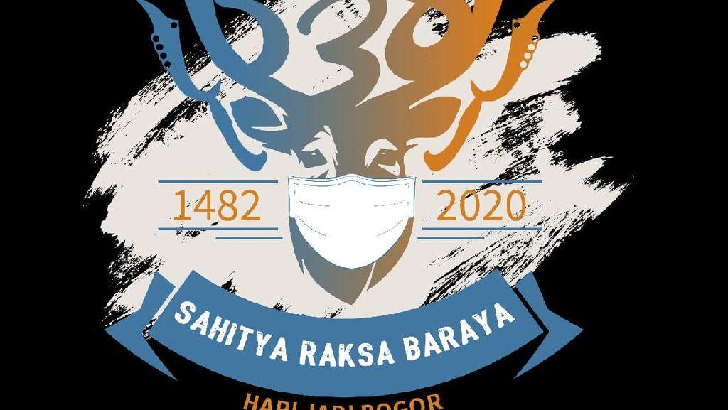 Pandemi Corona, Logo Hari Jadi Kota Bogor Berbentuk Rusa Bermasker