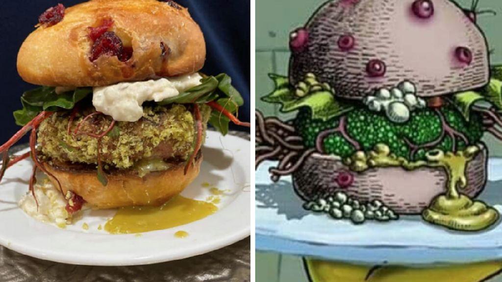 Burger Nasty Patty Racikan SpongeBob Bisa Dinikmati di Dunia Nyata