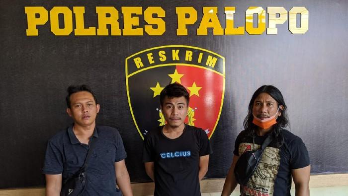 Pria pengeroyok tamu hotel di Kota Palopo ditangkap polisi (dok. Istimewa).