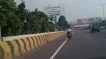 Viral Motor Nyelonong Masuk Tol Jakarta-Tangerang, Ini Kata Polisi