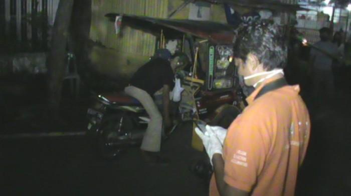 Pria di Makassar ditemukan tewas di becak motor