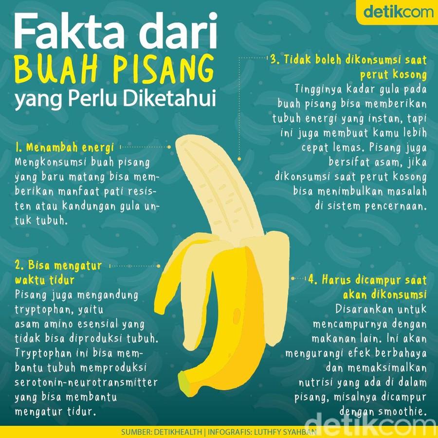 4 fakta buah pisang