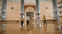 Jokowi Tinjau Persiapan New Normal di Masjid Istiqlal