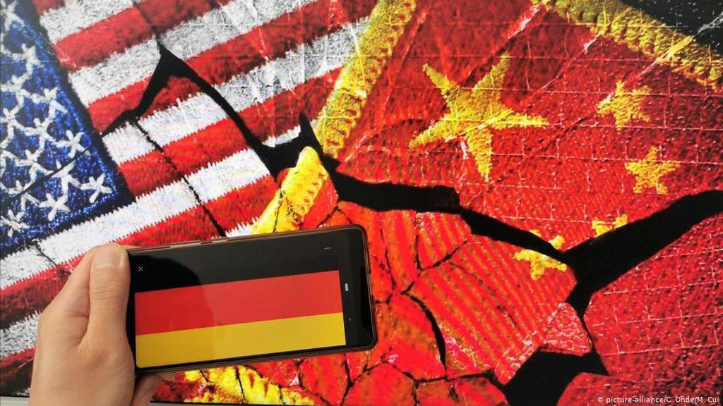 China Ancam Balas AS Terkait Hong Kong, Jerman Tawarkan Mediasi