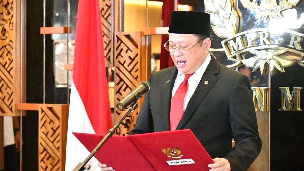 Ketua MPR: Pancasila Selalu Hadir dan Ditemukan dalam Keseharian