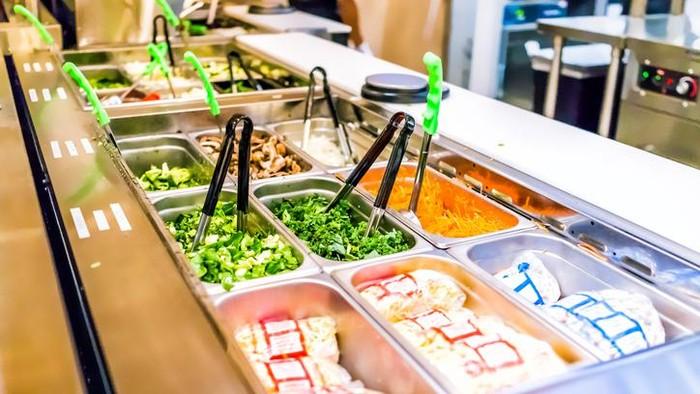 Protokol new normal di restoran all you can eat