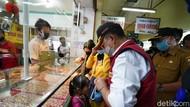 Bupati-DPR RI Tinjau Pasar Tradisional di Cianjur : Jaga Jarak masih Diabaikan