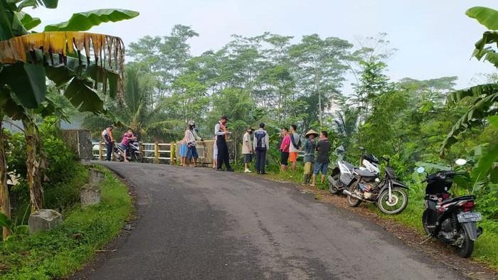 TKP Wakapolres Purbalingga Kompol Widodo Ponco Susanto kecelakaan