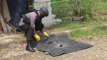 Gegana Polda Banten Amankan Peluru-Granat di Kontrakan Warga
