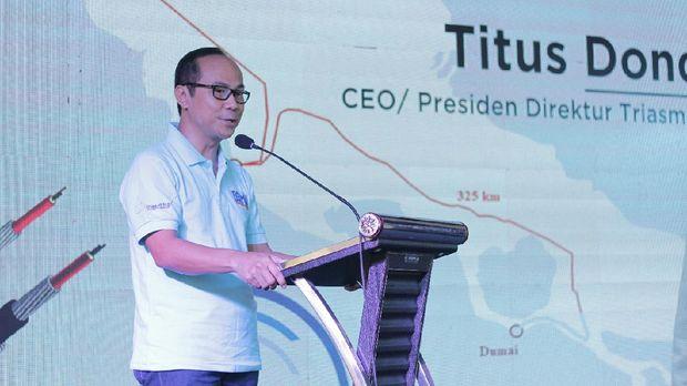 CEO Triasmitra Titus Dondi