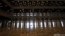 Masjid Istiqlal Direnovasi, Begini Teknologi Pencahayaan di Dalamnya
