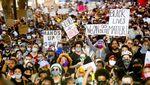 Aksi Protes Kematian George Floyd di Berbagai Negara
