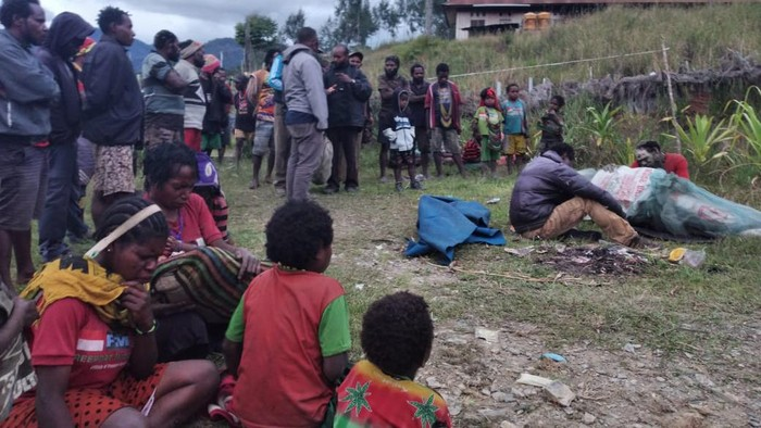 KKB yang mengaku sebagai tentara hutan menembak mati warga di Intan Jaya Papua (Foto: dok. Polda Papua)