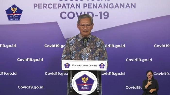 Juru bicara pemerintah untuk penanganan Corona, dr Achmad Yurianto (YouTube BNPB)