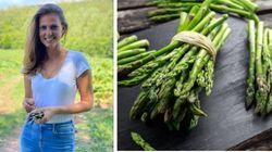 Sepi Job. Model Lingerie Ini Banting Stir Jadi Pemetik Sayuran