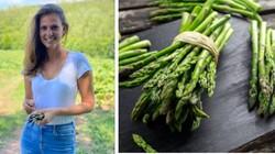 Sepi Job, Model Lingerie Ini Banting Stir Jadi Pemetik Sayuran