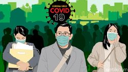 Besok Denda Tak Bermasker Rp 100 Ribu Berlaku di Bandung