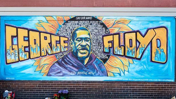 Mural George Floyd