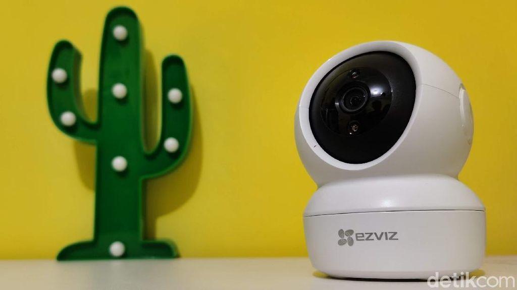Menjajal Kamera Pengawas Ezviz C6N