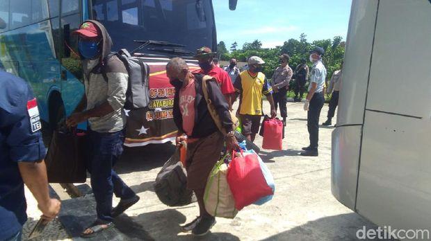 30 WN Papua Nugini dipulangkan dari Jayapura (dok. Istimewa)