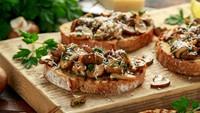 Resep Roti Panggang Topping Jamur yang Gurih dan Kaya Nutrisi