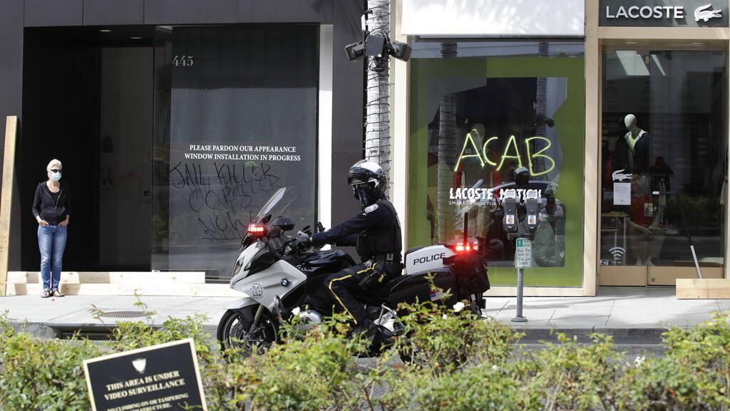 Gara-gara Demo, Butik Mewah di Beverly Hills Ini Tutup