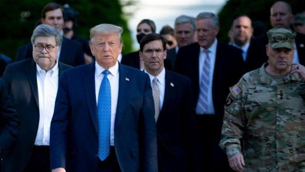 Eks Kepala Militer AS Kritik Cara Trump dalam Meredam Demo George Floyd