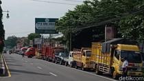 New Normal Pemkab Klaten, Antrean Kendaraan Uji KIR Mengular