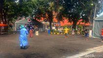 23 Pasien Positif Corona di RS Darurat Jatim Rutin Senam Usir Kejenuhan