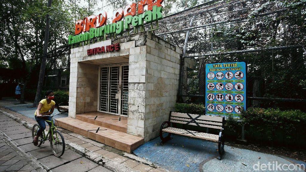 Pandemi Corona, Taman Burung Perak Tangerang Ditutup Sementara