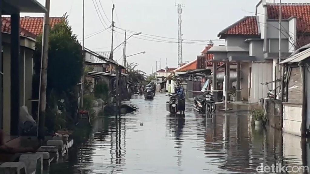 6 Daerah di Jateng Terendam Banjir Rob, Terparah di Demak