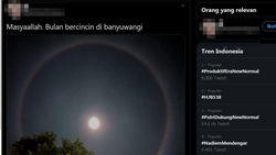 Muncul Bulan Bercincin, Ini Alasan Ilmiahnya