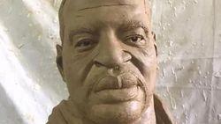 Sosok George Floyd Abadi di Patung Ciptaan Seniman Ini
