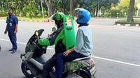 Ojol Mau Pakai Sekat: Motor Tak Seimbang, Keselamatan Malah Bisa Terancam