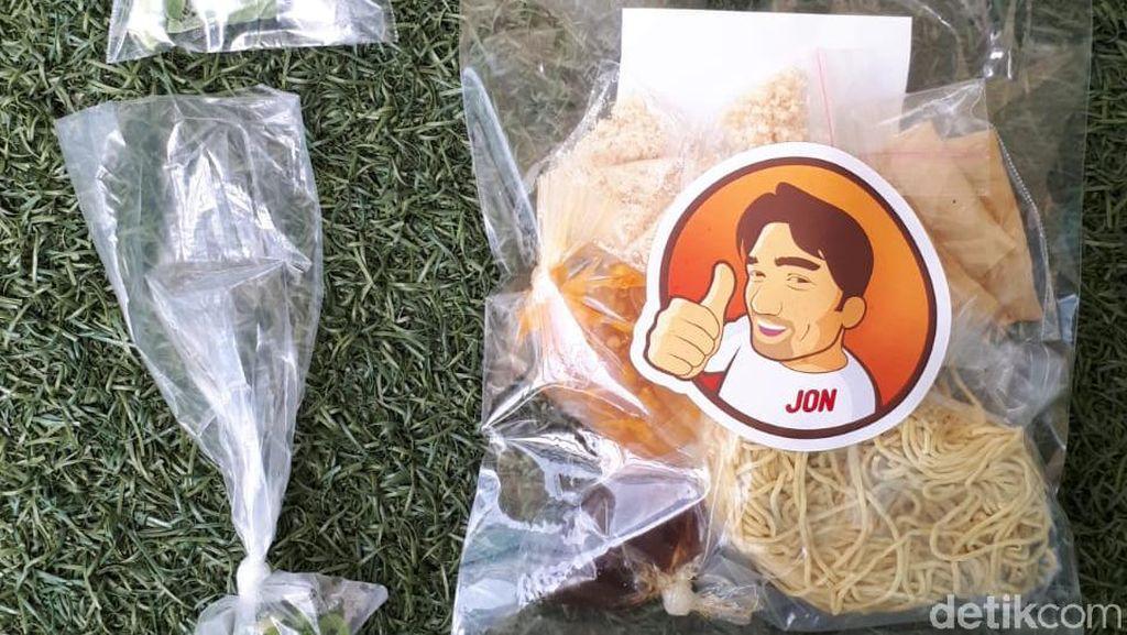 Mantab Jon: Praktis! Paket Mie Ayam Rp 25 Ribu Racikan Ibnu Jamil