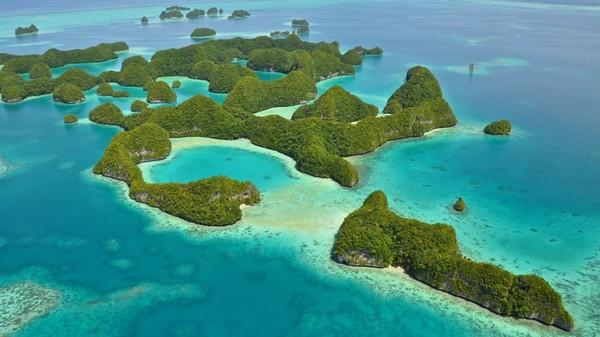 Kepulauan Palau bebas Corona dan sudah menutup perbatasan internasional sejak Maret. (CNN)
