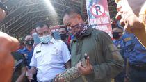 Dikira Biawak, Ternyata Anak Buaya Masuk ke Kamar Mandi Warga di Padang