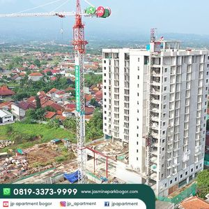 Greenwoods Group Selesaikan Topping Off JP Apartment Saat Pandemi