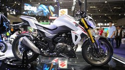 Penampakan Motor Suzuki Pesaing MT-25 dan Z250
