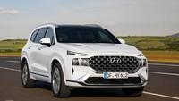 Lebih Kalem, Ini Wajah Baru Hyundai Santa Fe 2021